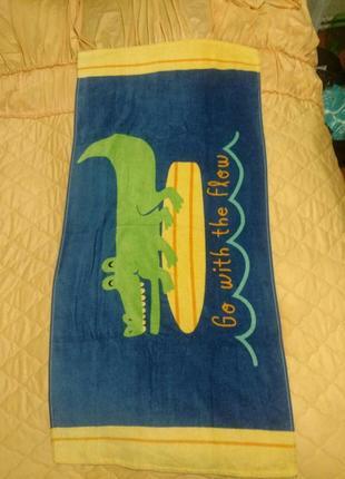 Пляжное полотенце, рушник пляжний на пляж