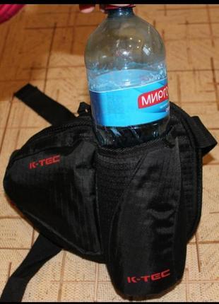 Треккинговая водонепроницаемая поясная сумка k-tec