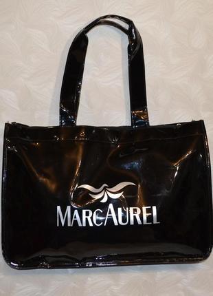 Красивая лаковая сумка marc aurel