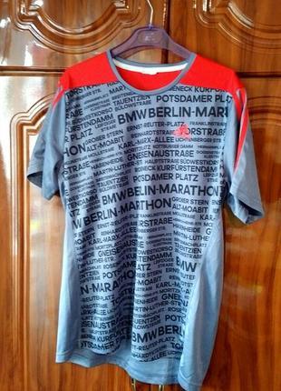 Беговая футболка adidas running berlin marathon