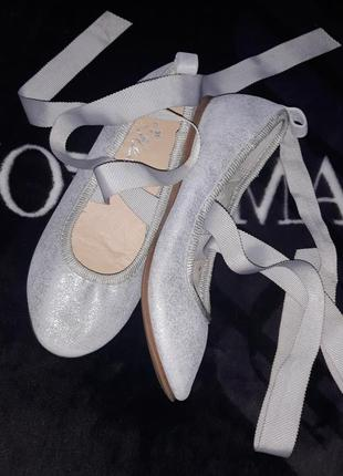 Балетки чешки туфли обувь для гимнастики танцев фирма next