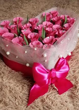 Букет с конфетками, подарок для любимых