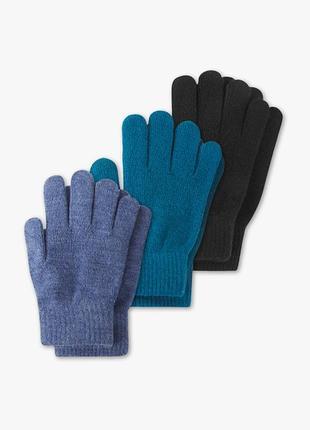 Набор перчаток-3 шт c&a, р.128/152