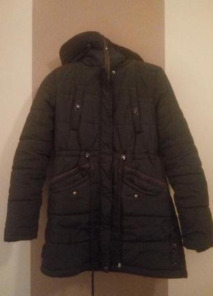 Зимняя теплая куртка на холлофайбере