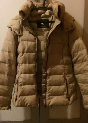 Куртка зимняя, пуховик zara