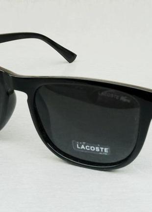 Lacoste очки мужские солнцезащитные черные