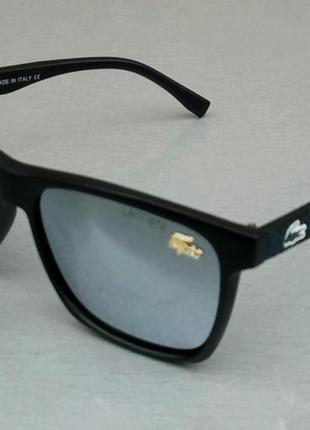 Lacoste очки мужские солнцезащитные зеркальные металлик поляризированые