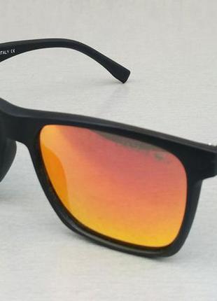 Lacoste очки мужские солнцезащитные оранжевые зеркальные поляризированые
