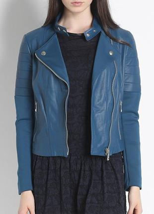 Куртка косуха кожаная pinko оригинал италия.