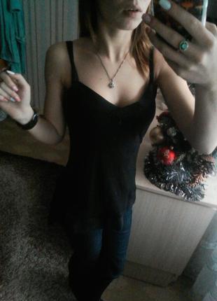 Блуза с шифоном