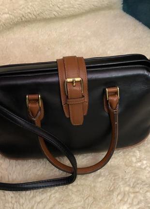 Винтажная сумка с логотипом collection venice simplon orient express. оригинал