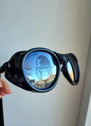 Солнцезащитные круглые очки с боковой шорой съемной havvs polarized