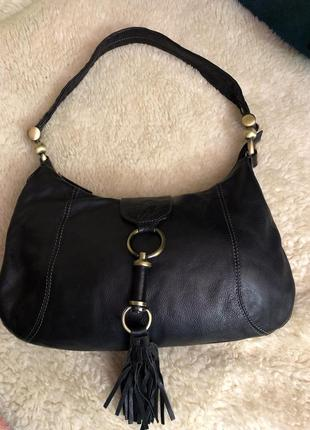 Кожаная сумочка английского бренда smith & canova
