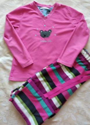 Флисовая пижама, костюм для дома/сна
