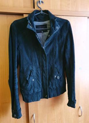 Куртка замшевая натуральная