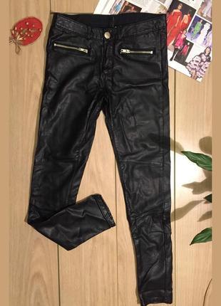 Стильные чёрные штаны, divided by h&m