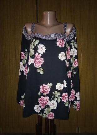Красивенная шифоновая блуза