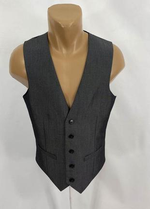 Жилет стильный, фирменный burton menswear