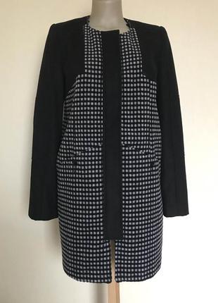 В наличии - деми-пальто со съемным 2-сторонним воротником *kaleidoscope* 12/38 р.
