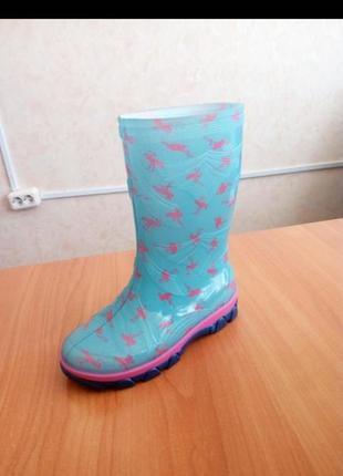 Дитячі чоботи резинові чобітки