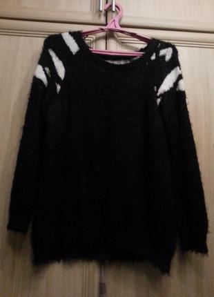 Вязаный свитер dilvin