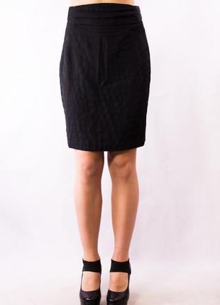 Юбка миди женская черная mexx (38) (m)