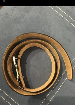 Hermès пояс ремень унисекс франция кожа4 фото