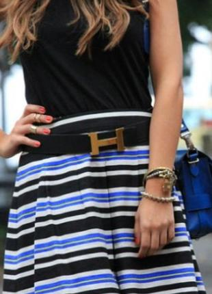 Hermès пояс ремень унисекс франция кожа1 фото