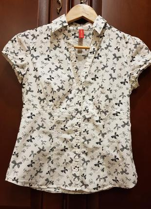 Летняя натуральная рубашка