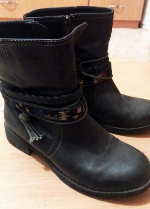 Осенние сапоги ботинки