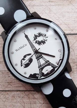 Женские ретро часы в горошек, есть нюанс.