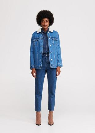 Скидка на новые брендовые джинсы mom