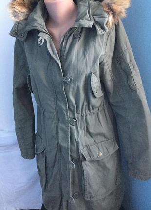 Пальто парка на синтепоне h&m1