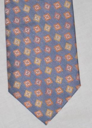 Шелковый галстук/принт/ yves gerard