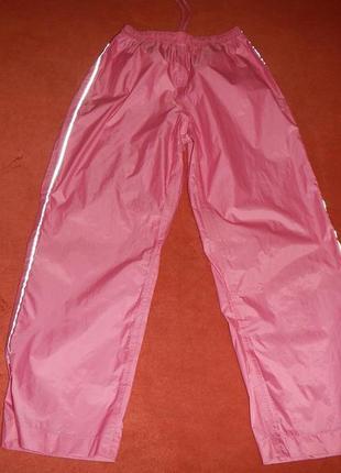 Непромокаемые штаны р.146-152см