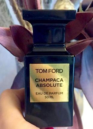 Tom ford champaca absolute_original_eau de parfum 3 мл_затест