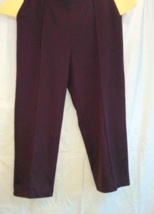 Красивые  фирменные  женские брюки стрейч ( made in sri lanka )