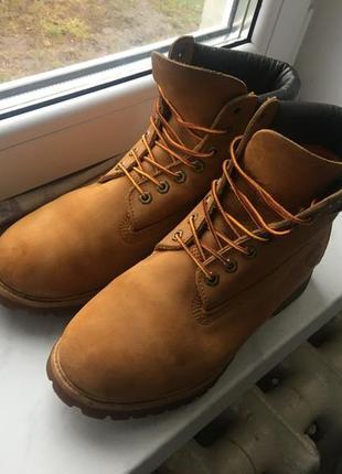 Timberland жёлтые ботинки
