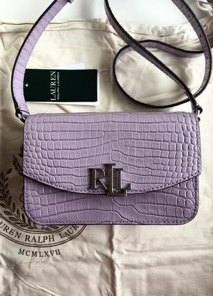 Стильная сумка ralph lauren! натуральная кожа!