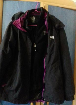 Куртка karrimor (3 в 1)