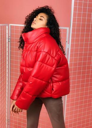 Кожаные курточки сезона зима-весна.