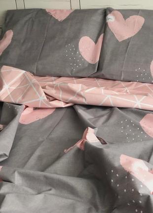 Постельное белье 2-спалка и евро в наличии, комплект постели качественный