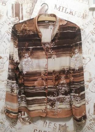 Блуза , рубашка 16-18 р.