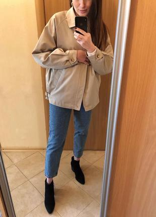 Dannimac original vintage винтажная базовая оверсайз куртка пиджак парка