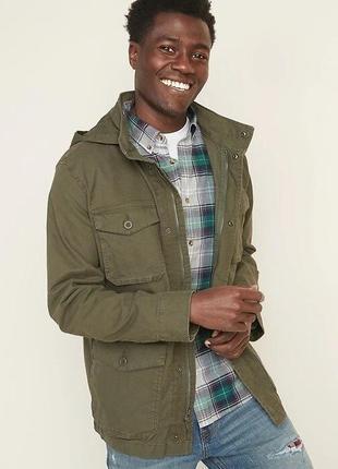 Нова 60-62 мужская куртка в военном стиле большого размера