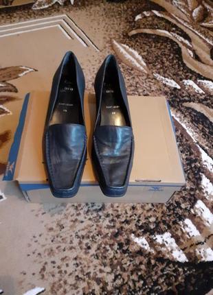 Туфли кожаные rene lezard