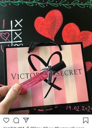 Виктория сикретдля духов на подарок пакетик пакет victoria's secret