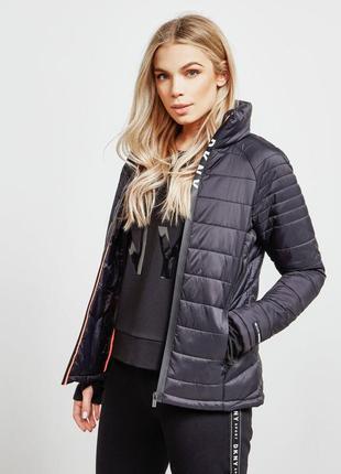 Куртка dkny чёрная спорт