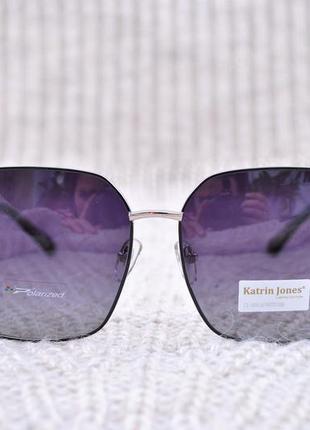 Фирменные большие очки katrin jones polarized новинка
