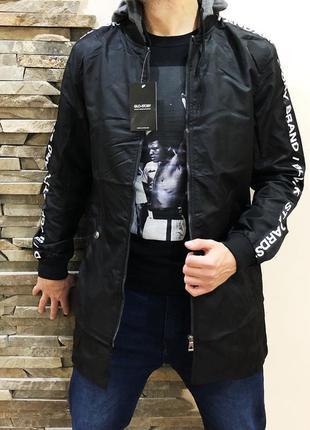 Удлиненная стильная куртка {все размеры}